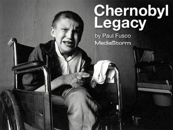 チェルノブイリの負の遺産