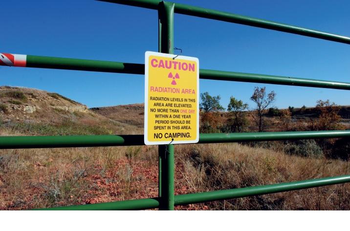 ブラックヒルズウラン鉱山立ち入り禁止