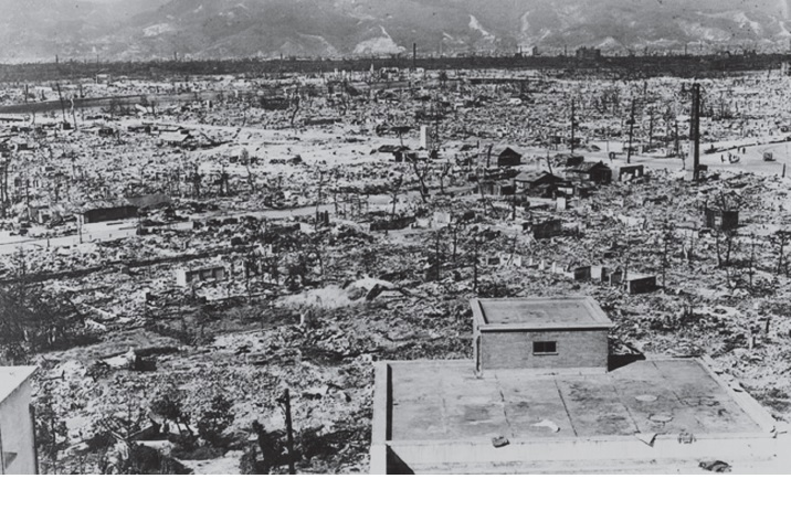 原爆投下後の広島
