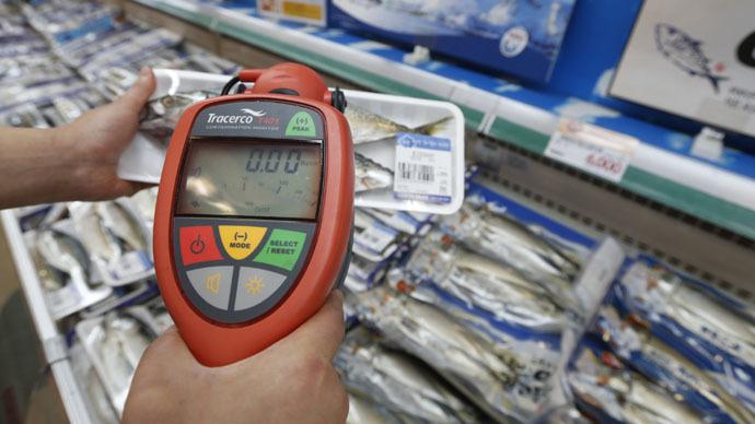 線量計での食品検査